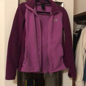 Purple North Face